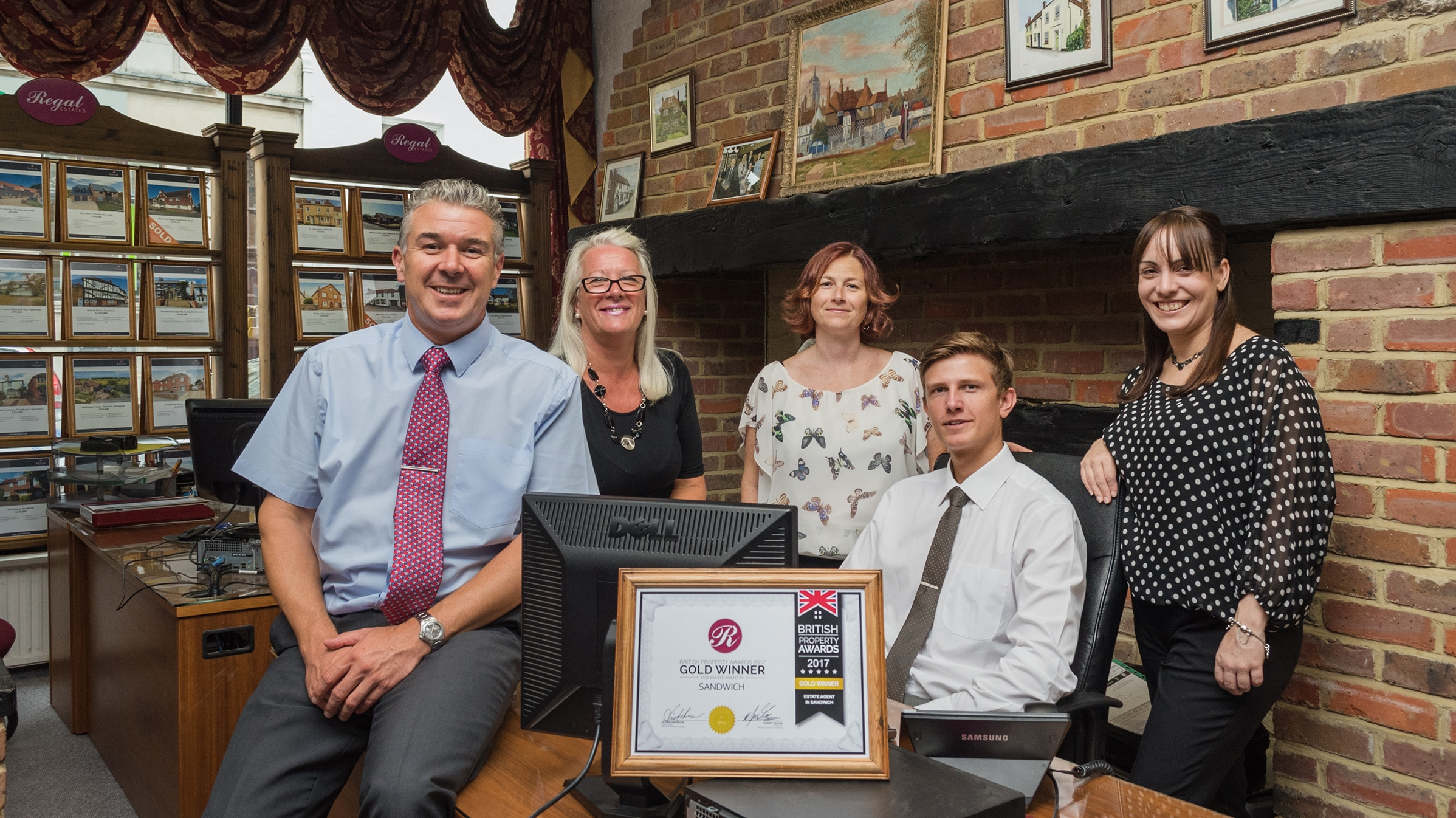 Our Sandwich Office wins 'Gold' at the British Property Awards