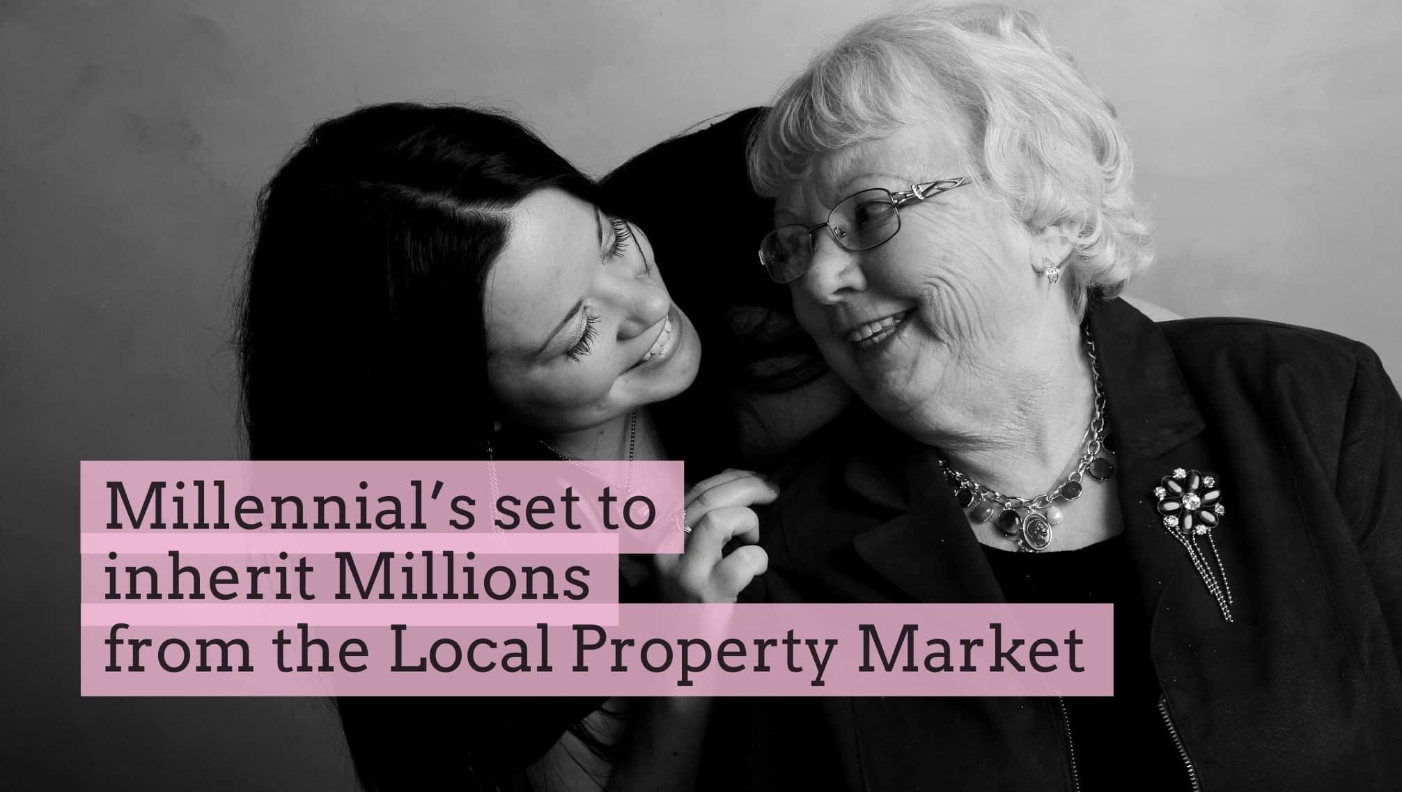 Canterbury's 'Millennials' set to inherit £112,947 each in property!