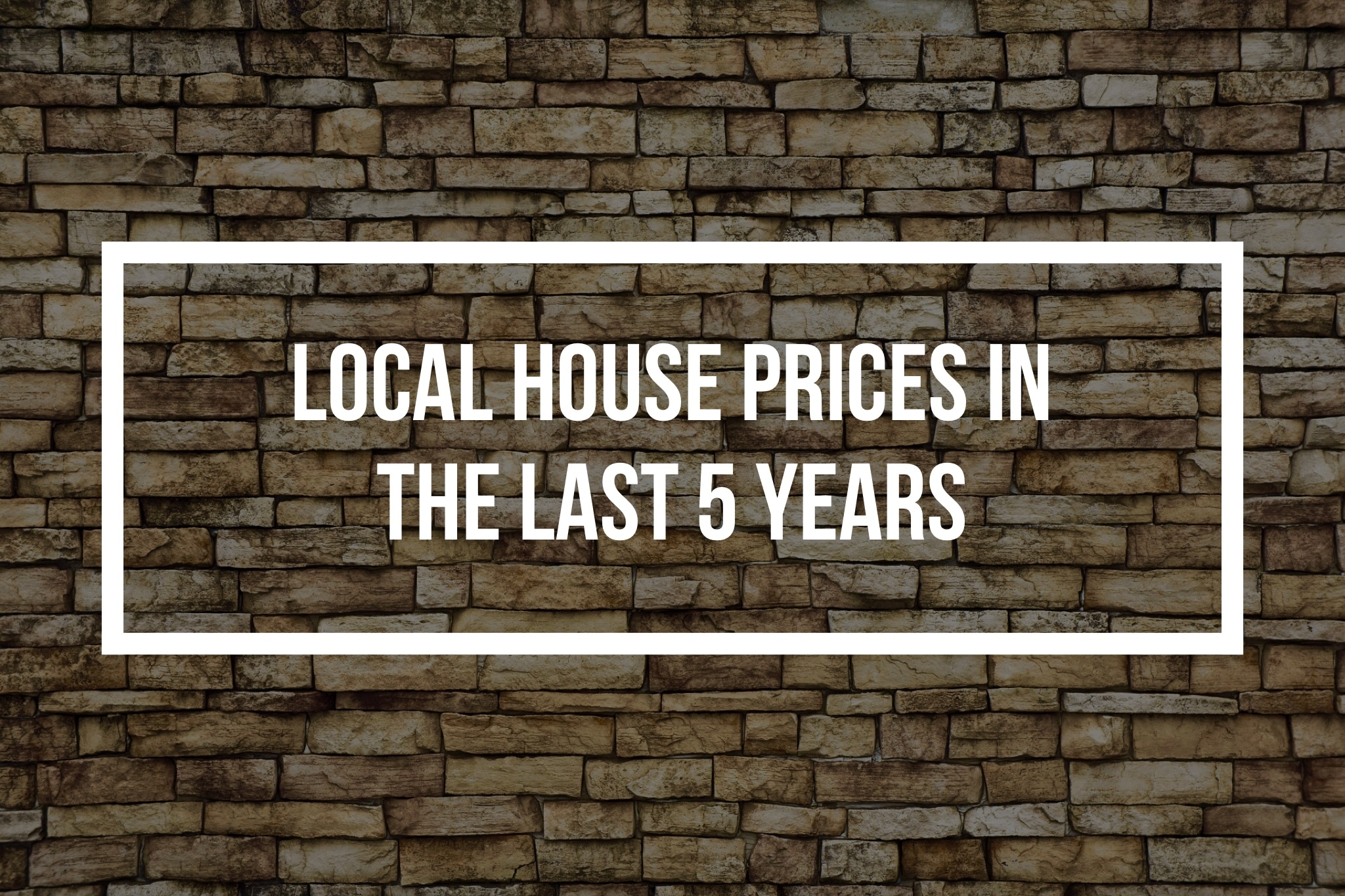 Canterbury House Prices up 30.8% in the last 5 Years