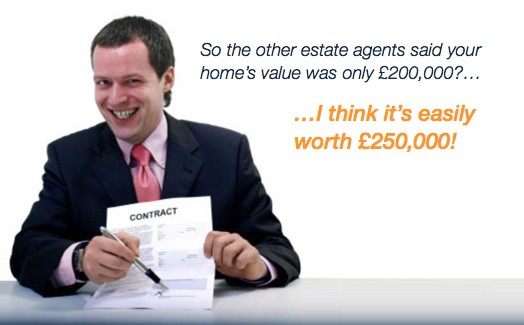 Before Choosing an Agent, see who will value your home honestly.