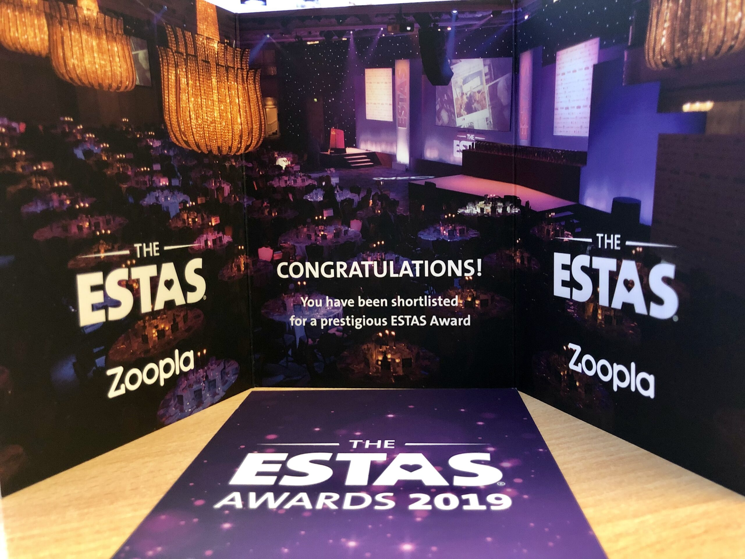 REGAL ESTATES MAKES THE SHORTLIST IN BIGGEST AWARDS FOR LETTING AGENTS AGAIN!