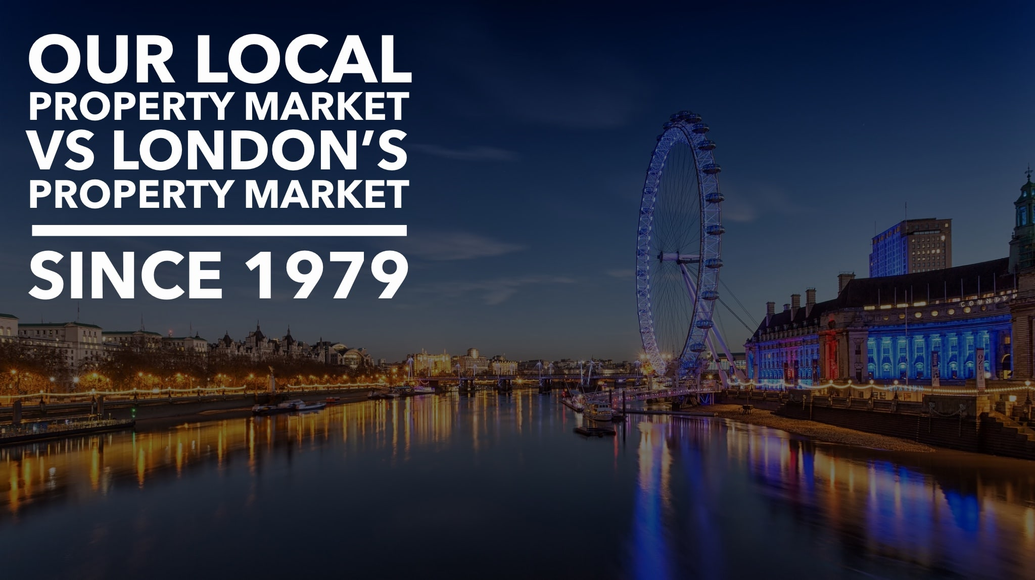 Canterbury Property Market vs London Property Market