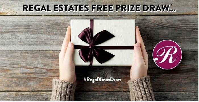 Regal Estates FREE Xmas Prize Draw