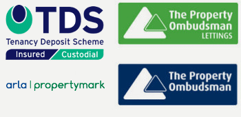We are accredited with TDS, Arla, and the Property Ombudsman