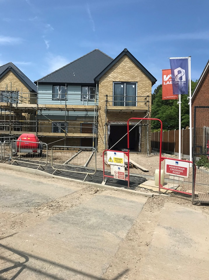 New Build House Numbers at a Three Year Low