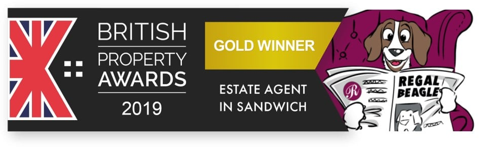 'Gold' again for our Sandwich Office at the 'British Property Awards' – 3rd Year in a Row!