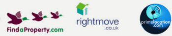 We list properties on findaproperty.com, rightmove.co.uk, and primelocation.com